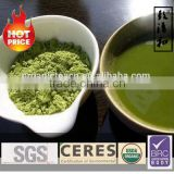 100% self-governed tea plantation Organic USDA No Additives Pigments green tea powder organic