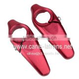 Red Aluminum Alloy Bicycle Small Handlebar Cover Vice Bar Grip Bike Handlebar Ends CL43-0006