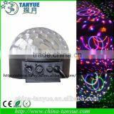 led flash effect lighting discotheque centers led crystal magic ball light