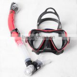 Good reputation wholesale high quality silicone diving mask,divingsnorkel,fins,scuba diving equipment MS1109
