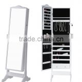 Stock Dressing Mirror-Jewellery Cabinet, Home Decorations Storage Mirror,Full-length Jewery Mirror,Antique Standing Mirror