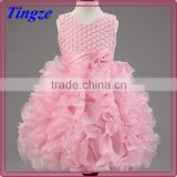 Lastest fashion many colors charming ball grown dress boutique evening dress for girls TR-WS04