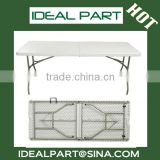 Different size (6-Foot Fold-in-half Table) plastic folding table                                                                         Quality Choice