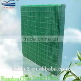 Spunlaced filter paper pleated water cooling pad