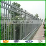 Factory hot used outdoor Powder coated tubaler zinc steel barrier fence panel and fence post