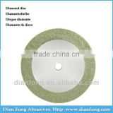 A19D15 19mm Flexible Miniature Solid Dental Edge Coated Diamond Disc Diamond Grinding Wheels