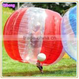 High quality inflatable bumper ball for adults, zorb soccer suits, inflatable ball sport toy