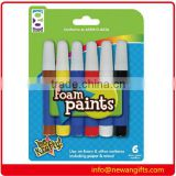 6ct Foam Paints