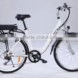 wuxi riches cheap city lady aluminium case lithium battery electric bikes electric bicycle (Model CTB430U)