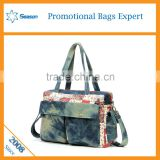 Wholesale 2016 new style denim baby bag utility tote bag                                                                                                         Supplier's Choice