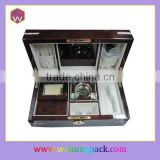 Luxury High Glossy Painting Wooden Perfume Packaging Gift Box Set