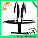 Hot export baby car seat belt and black color safety belt full body harness