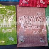 15X klimax potpourri by max incense bags/coconut 15x klimax blend bags                                                                         Quality Choice