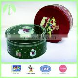 0395-wholesale round tin can cake/Chocolate/cookie boxes/Christmas box
