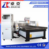 Discount Price 3D CNC Engraving Machine For Wood Aluminum ZKM-1325 With 200MM Z-Axis 3.2KW Water Cooling Spindle