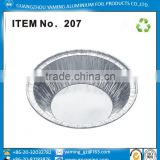 foil containers small round bakery aluminium foil egg tart shell dish tart container holder
