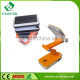 Plastic for bed reading 24LED solar powered reading lamp