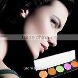 Professional Makeup 5 Color Contour Concealer Palette Face Cream Camouflage Make Up Neutral Concealer