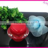 wholesale acrylic UFO style special green jars cream jar flying saucer jar acrylic box cosmetic container