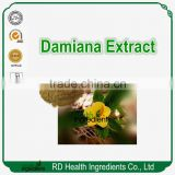 New pure damiana extract damiana extract powder 4:1 For sexual enhancement
