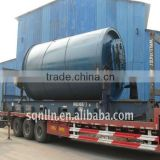 2013 newest waste rubber/plastic raw material pyrolysis machinery
