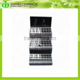 DDI-S016 ISO9001 Chinese Factory Wholesale SGS Test 3 Tier Clear Acrylic Lipstick Holder Display Stand