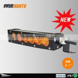 2015 New product 8inch led strobe light bar with remote control 30W amber led mini light bar VERY THIN car roof top light bar