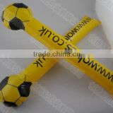 Inflatable PE cheering stick for football match