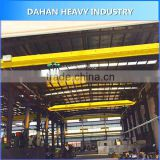 Light Duty Top Roof Traveling Motor Driven Electric Hoist 5 ton Single One Beam Girder Overhead Bridge Crane for sale