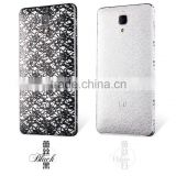 Luxury design lace skin sticker for xiaomi m4 pvc wrap decal, China supplier