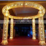 new hot indian wedding event backdrop design / stage backdrop design / indian mandap wedding decoration