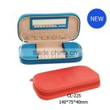 CL-225 cute design and portable leather jewelry box