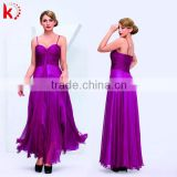 Fashion 2014 evening dress with open back long corset bustier evening dress for young girls