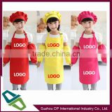 promotion Polyester kitchen kids apron waterproof