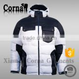 Newest ski jacket multiple waterproof outside pockets sports wear brands