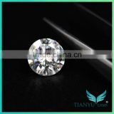 wholesale moissanite loose stones round cut 6.5mm forever one vvs eye clean lab grown diamonds h&a moissanite diamante