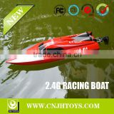 New Products Double Horse 7012 2.4G 4CH EP High Speed Big Racing & Servo RC Boat Fishing