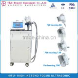 190mm/ 130mm/110mm/90mm Cryolipolysis Fat Freezing Machine For Body Slimming 8.4