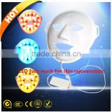 3 led colors therapy led mask for facial skin rejuvenation acne scar removal anti aging