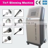 2015 fantastic 7 in 1 (refrigeration + bioplar + tripolar.......) body slimming device/ fat, cellulite reduction laser machine