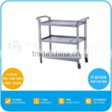 2017 TWOTHOUSAND HOT Service Cart TT-BU107B Three Shelf Commercial Hotel Room Service Equipment With Wheels