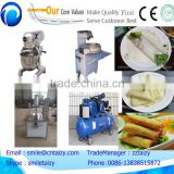 commercial widely used in restaurant university food processing equipment spring roll making machine
