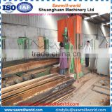 Vertical band sawmill machine timber cutting saw for tree processing