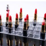 36 grid Lipstick display case plastic storage box for nail polish makeup cosmetic mascara