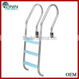Factory swimming pool equipments pool ladder stainless steel pool ladder