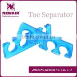 Professional High Quality nail art silicone toe separator and finger spacer for nails
