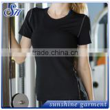 High quality women Gym t-shirts running fitness wear