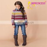 2015 children's clothing factory direct wholesale of handmade baby sweater,winter clothes for children