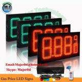 10inch 8.88 9/10 Red Color RF Remote Control Waterproof Double Side LED Oil Price Sign Board