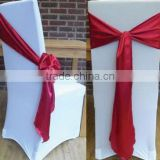 flat top stretch chair cover and square back wedding spandex chair cover